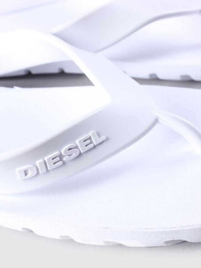 Diesel SPLISH, Weiß - Pantoletten - Image 4