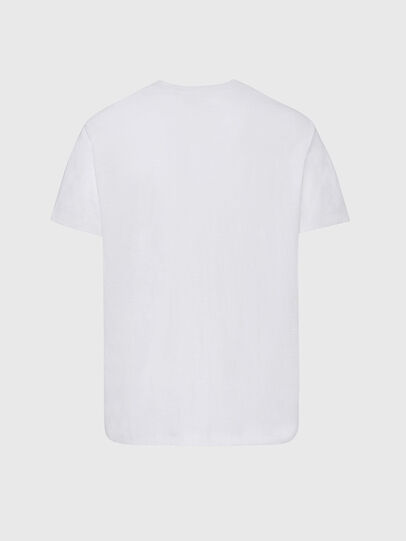 Diesel - T-RANIS-NEW2, Bianco - T-Shirts - Image 2