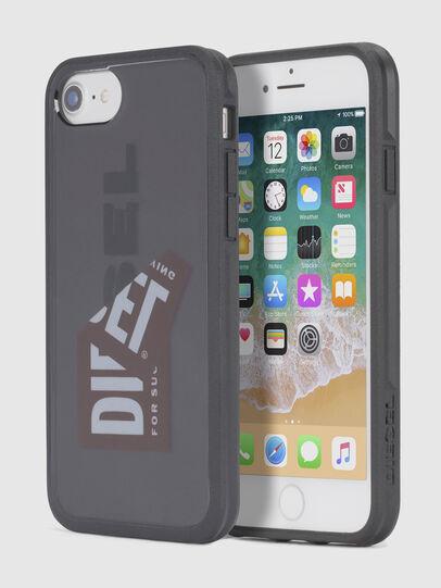 Diesel - STICKER IPHONE 8/7/6S/6 CASE, Schwarz - Schutzhüllen - Image 1