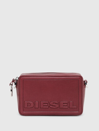 Diesel - ROSA' P, Bordeauxrot - Schultertaschen - Image 1