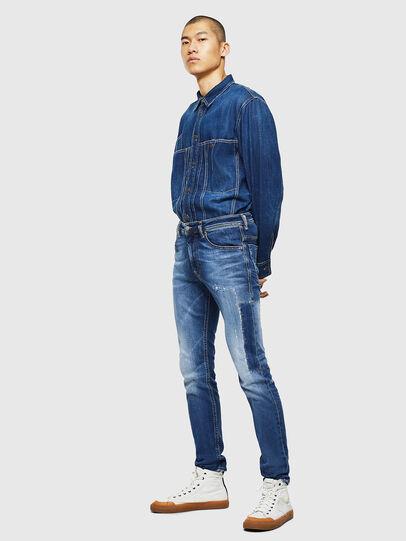 Diesel - Thommer 0097W, Dunkelblau - Jeans - Image 6