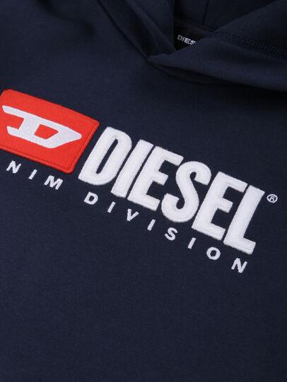 Diesel - SDIVISION OVER, Mitternachtsblau - Sweatshirts - Image 3