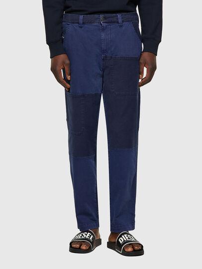 Diesel - D-Azerr 0GCAP, Bleu - Jeans - Image 1