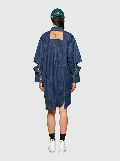 Diesel - CL-DE-BLIV, Bleu Foncé - Robes - Image 2