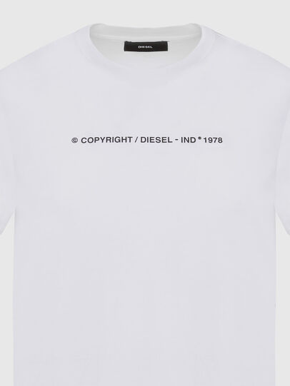 Diesel - T-SILY-COPY, Weiß - T-Shirts - Image 3