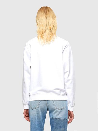 Diesel - F-ANG-COPY, Weiß - Sweatshirts - Image 2
