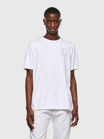 Diesel - T-JUST-E8, Blanc - T-Shirts - Image 1