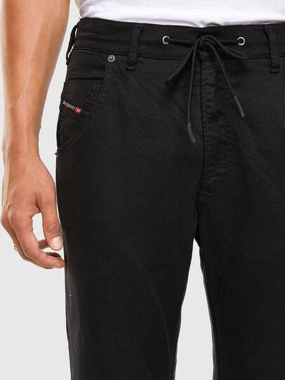 Diesel - Krooley JoggJeans 069NC, Schwarz/Dunkelgrau - Jeans - Image 3