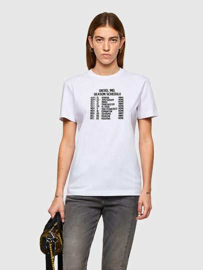 Diesel - T-DIEGOS-A11, Blanc - T-Shirts - Image 1