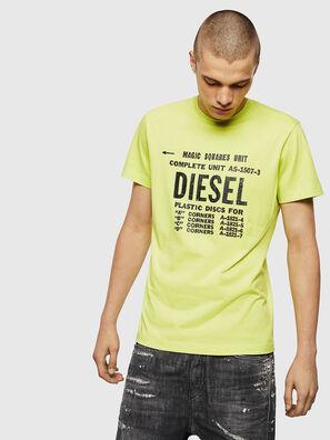 T-DIEGO-B6, Neongelb - T-Shirts
