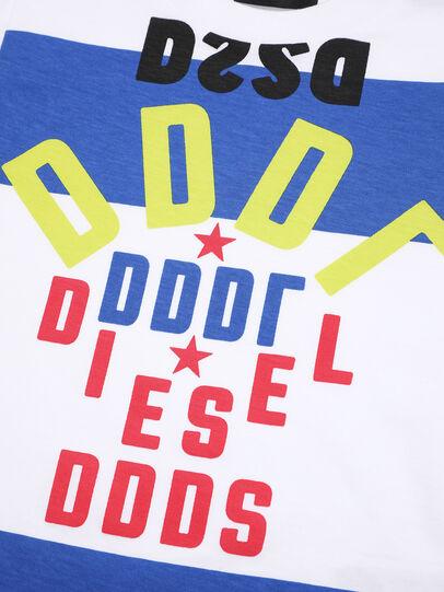Diesel - TOLIB-R, Weiß/Blau - T-Shirts und Tops - Image 3