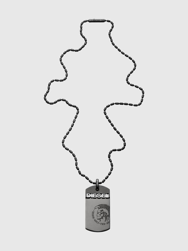 Diesel - DX0004, Schwarz - Halsketten - Image 1