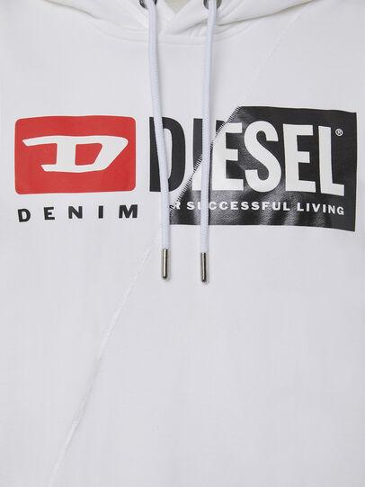 Diesel - F-ANG-HOOD-CUTY, Weiß - Sweatshirts - Image 3