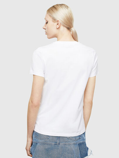 Diesel - T-SILY-WX, Weiss/Grau - T-Shirts - Image 2