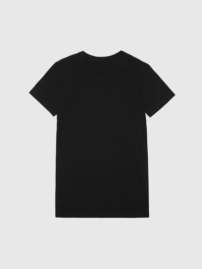 Diesel - UFTEE-SILY-INT, Noir - T-Shirts - Image 2