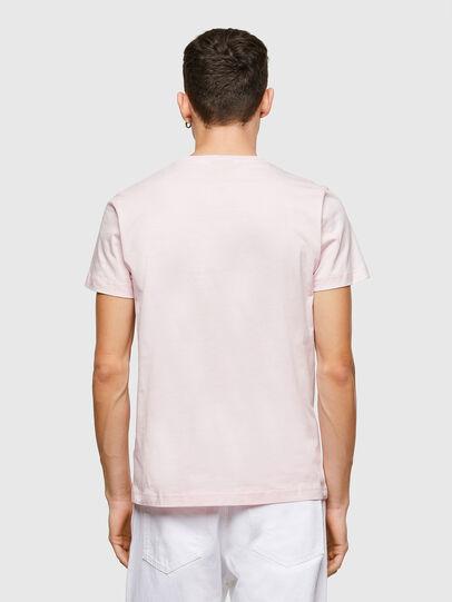 Diesel - T-DIEGOS-E34, Rose Poudré - T-Shirts - Image 2