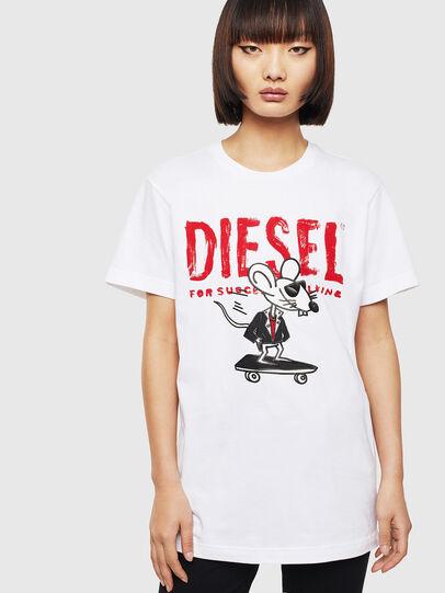 Diesel - CL-T-DIEGO-1, Weiß - T-Shirts - Image 2
