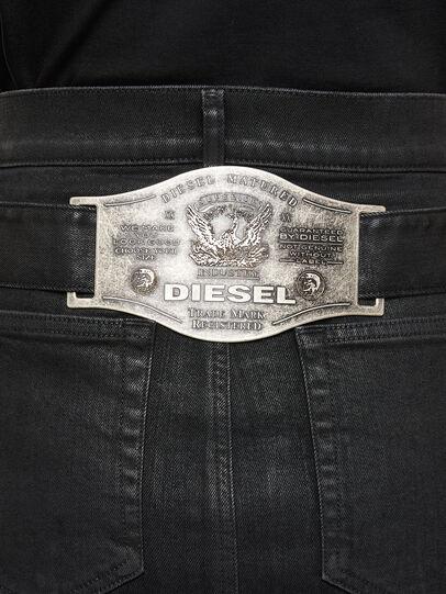 Diesel - DE-FEDY-SP, Noir - Jupes - Image 4