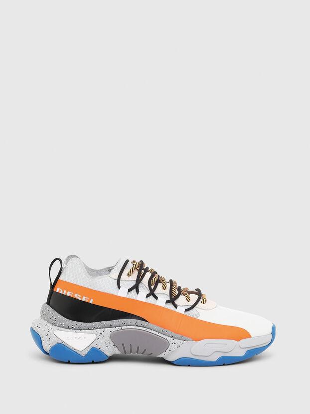 S-KIPPER BAND, Weiß/Orange - Sneakers