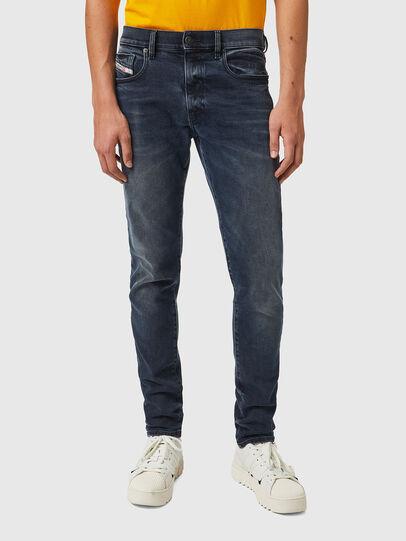 Diesel - D-Strukt 09B25, Blu Scuro - Jeans - Image 1