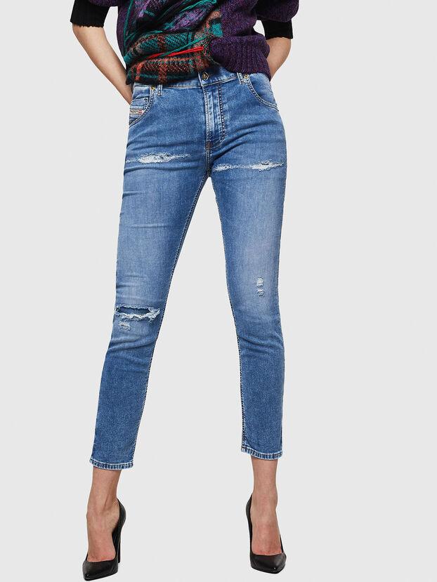 Krailey JoggJeans 069IH, Hellblau - Jeans