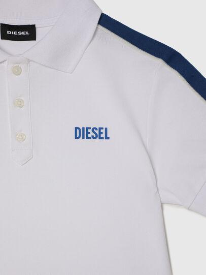 Diesel - TRALFYS1, Weiss/Blau - T-Shirts und Tops - Image 3