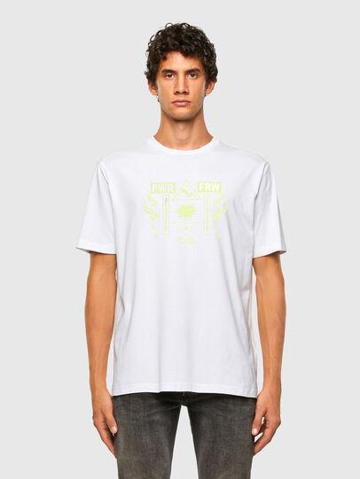 Diesel - T-JUST-X65, Weiß - T-Shirts - Image 4