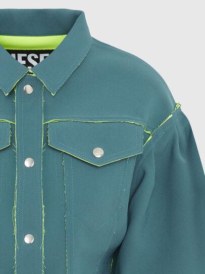 Diesel - G-ALBA, Wassergrün - Jacken - Image 4