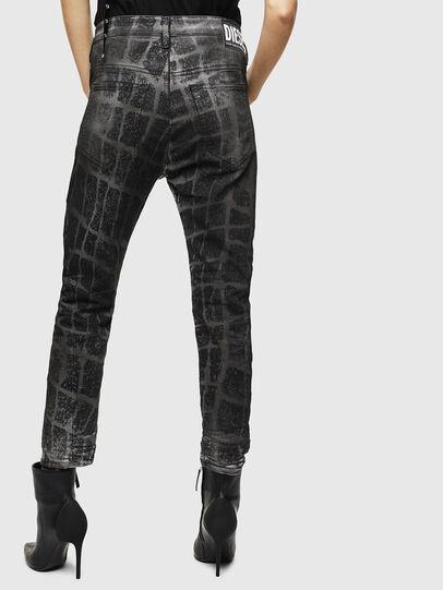Diesel - Fayza JoggJeans 0094M, Schwarz/Dunkelgrau - Jeans - Image 2