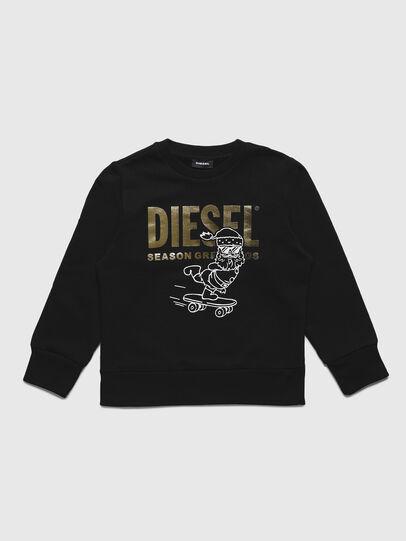 Diesel - SCLAUS-TSE, Schwarz - Sweatshirts - Image 1