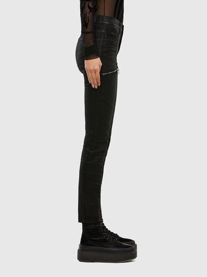 Diesel - D-Ollies JoggJeans® 069RK, Schwarz/Dunkelgrau - Jeans - Image 4