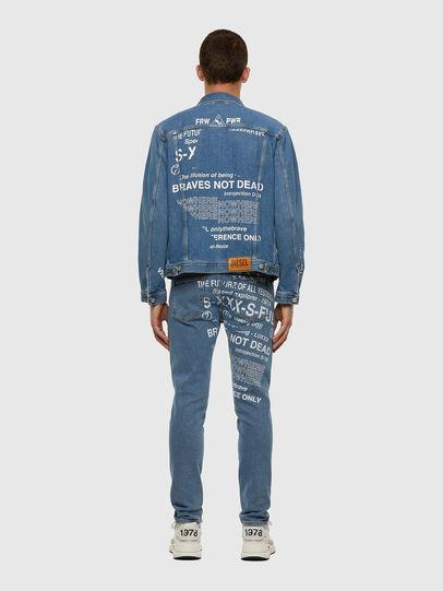 Diesel - D-Strukt 009DX, Hellblau - Jeans - Image 8