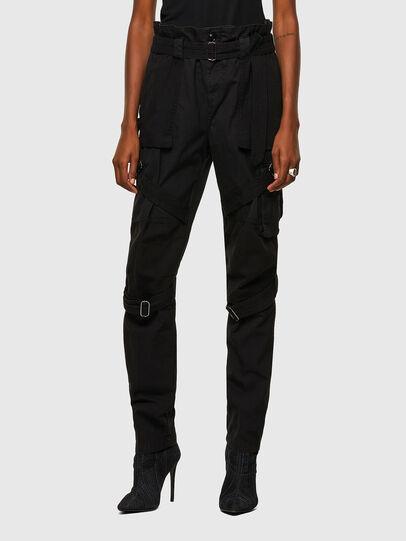 Diesel - P-FEDRA-A, Noir - Pantalons - Image 1