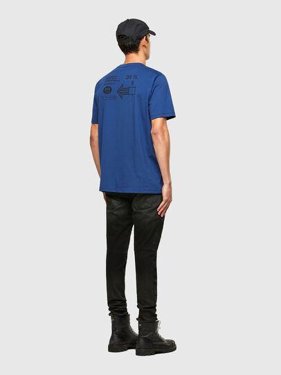 Diesel - T-JUST-A39, Blu - T-Shirts - Image 4