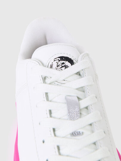Diesel - S-CLEVER LOW LACE W, Blanc/Rose - Baskets - Image 5