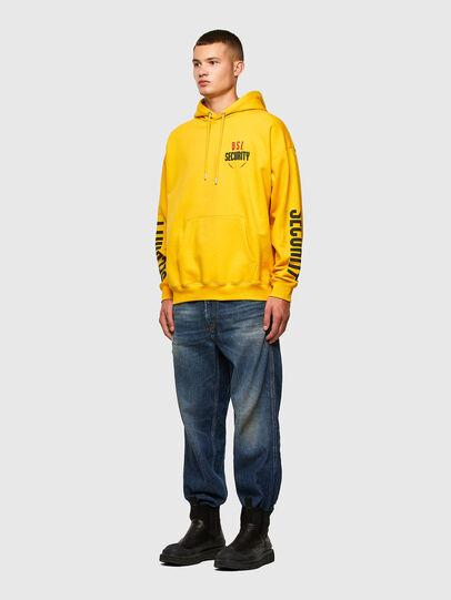 Diesel - S-UMMER-N72, Gelb - Sweatshirts - Image 5