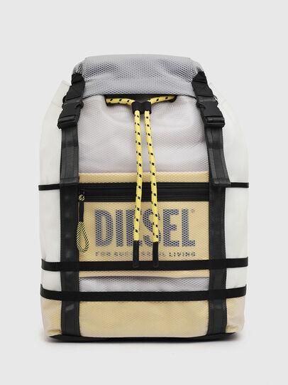 Diesel - F-SUSE BACKPCK, Weiß/Gelb - Rucksäcke - Image 1