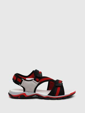 SA 07 STRIPE YO, Grau/Rot - Schuhe