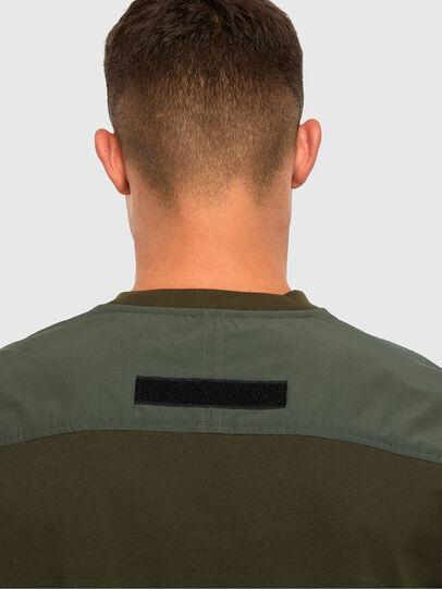 Diesel - T-ARMI, Olivgrün - T-Shirts - Image 3