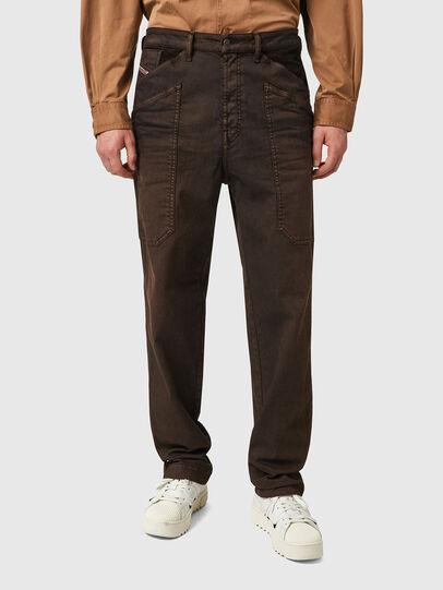 Diesel - D-Franky 09B38, Marron - Jeans - Image 1