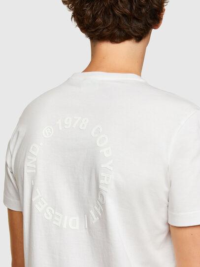 Diesel - T-DIEGOS-A4, Weiß - T-Shirts - Image 3