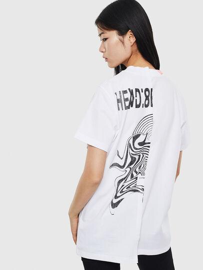 Diesel - T-GOMEZ, Weiß - T-Shirts - Image 2