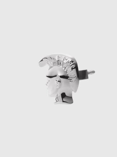 Diesel - DX1276, Gris argenté - Boucles d'oreilles - Image 2