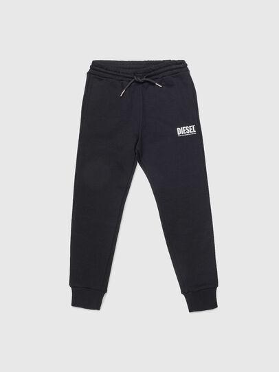 Diesel - PTARYLOGO, Noir - Pantalons - Image 1