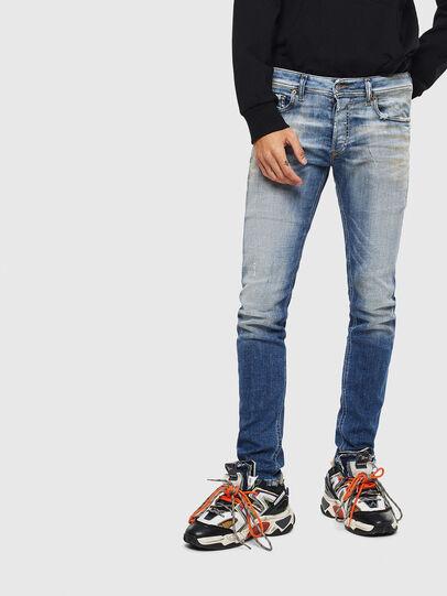 Diesel - Sleenker 009AF, Mittelblau - Jeans - Image 1