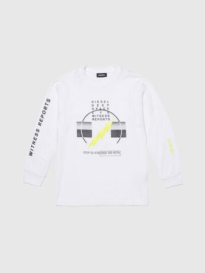 Diesel - TJUSTLSJ3 OVER, Weiß - T-Shirts und Tops - Image 1