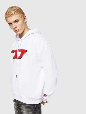 S-DIVISION-D, Weiß - Sweatshirts