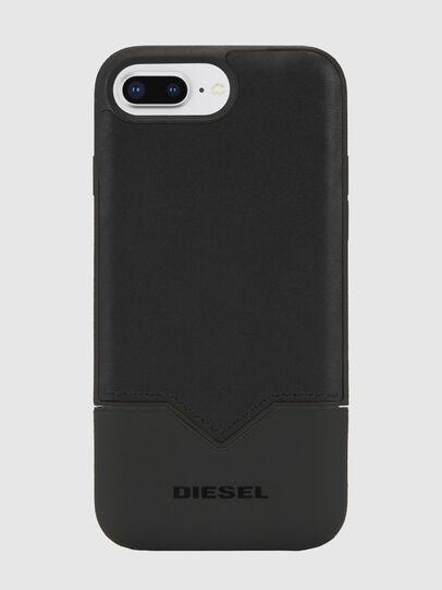 Diesel - CREDIT CARD IPHONE 8 PLUS/7 PLUS/6S PLUS/6 PLUS CASE, Schwarz - Schutzhüllen - Image 1