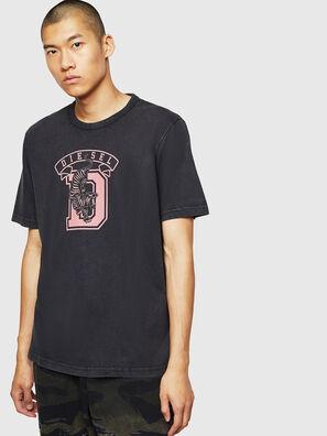 T-JUST-B2, Schwarz - T-Shirts