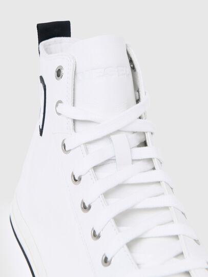 Diesel - S-ASTICO MID CUT, Bianco - Sneakers - Image 4
